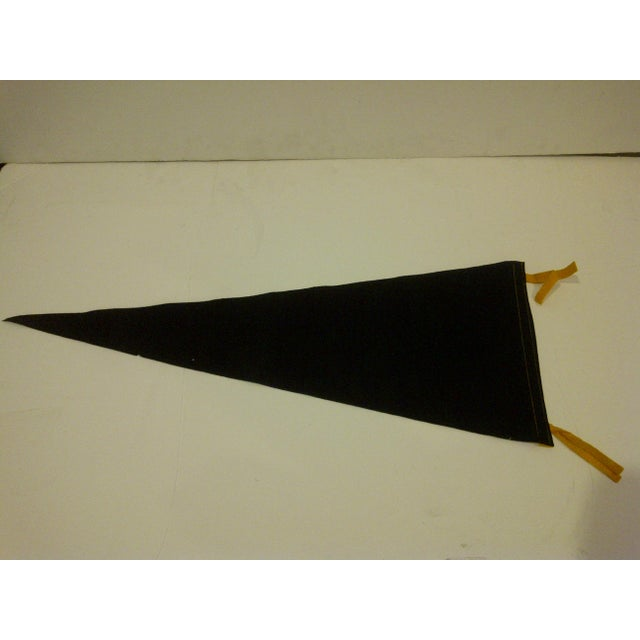 Fabric Vintage Football Team Pennant - Pittsburgh Steelers Circa 1950 For Sale - Image 7 of 7