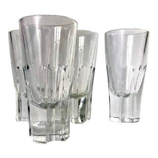 Vintage Italian Gumps Style Shot Glasses - Set of 4 For Sale