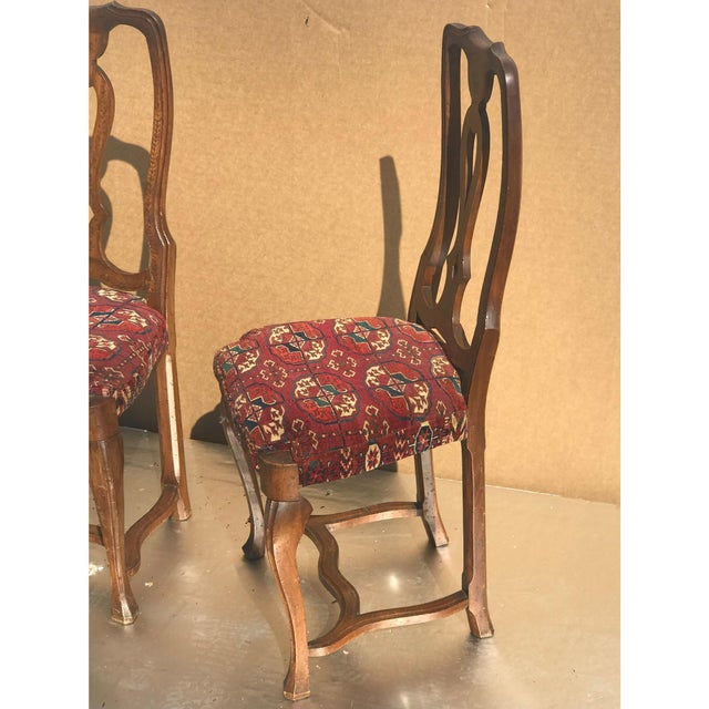 Tomlinson 19th Century Continental Side Chairs - A Pair For Sale - Image 4 of 6