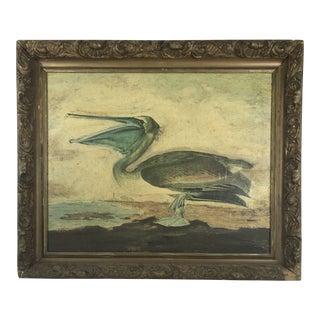 Framed Pelican Composition For Sale