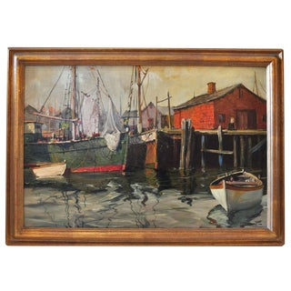 Painting of The Harbor