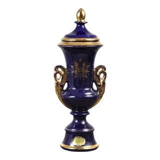 Cobalt Blue Urn For Sale