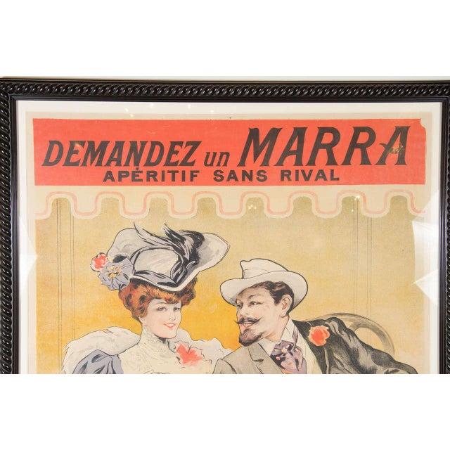 """Gorgeous Belle Époque Poster by Francisco Tamagno """"Demandez Un Marra"""" For Sale - Image 4 of 9"""