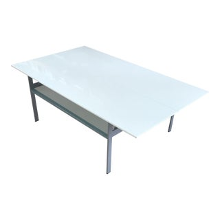 Modern White Coffee Table That Opens