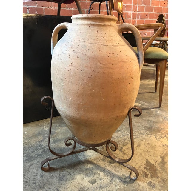 This impressive late 18th century terracotta water jar was found in Puglia (South of Italy). In excellent condition and...
