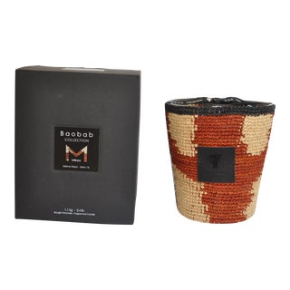 Baobab Collection Mena Hazo Candle Holder With Scented Max 16 Candle For Sale