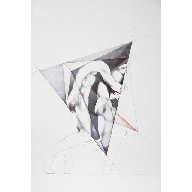 Move Ii, Lithograph by Helene Guetary For Sale - Image 4 of 4