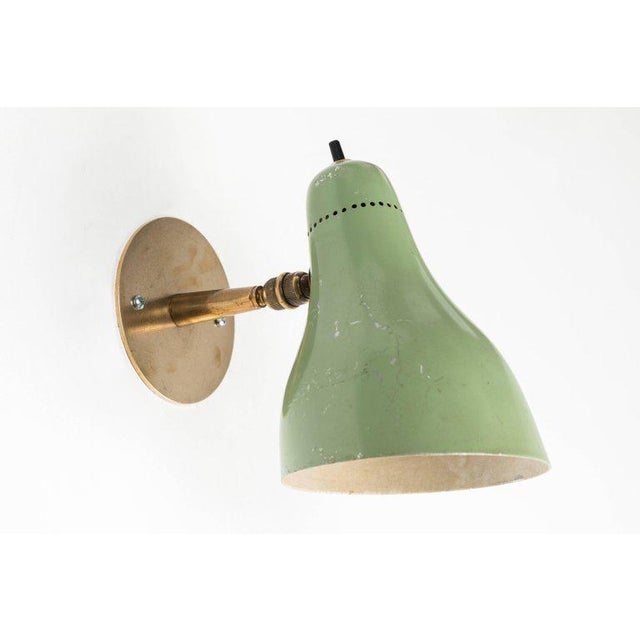 Italian 1960s Stilux Articulating Sconces - a Pair For Sale - Image 3 of 10