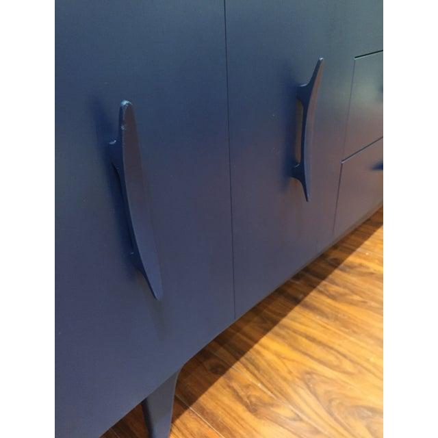 Vintage Blue Mid-Century Modern Dresser - Image 3 of 6