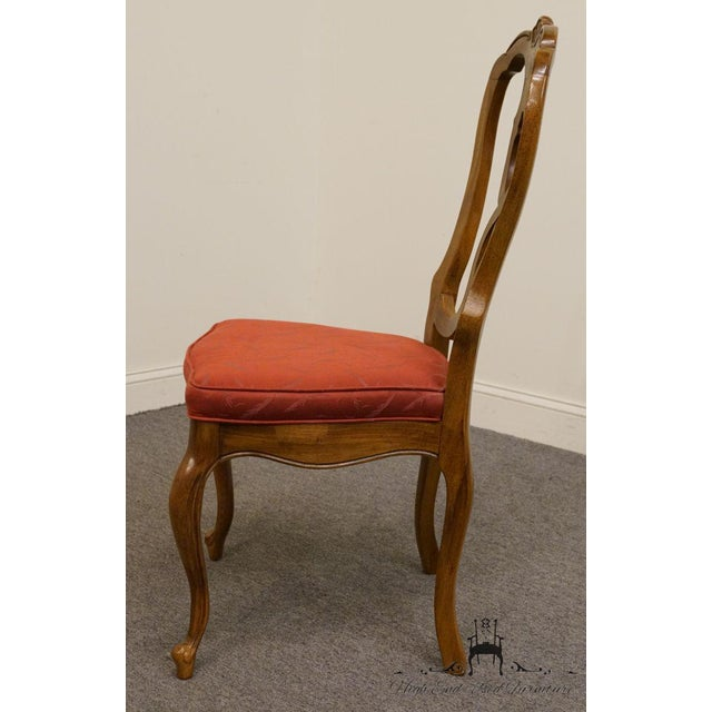 Late 20th Century Late 20th Century Vintage Thomasville Furniture Camille Collection Dining Chair For Sale - Image 5 of 10