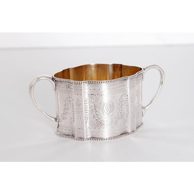 19th Century English Sterling Silver 4 Piece Coffee and Tea Service For Sale - Image 11 of 12