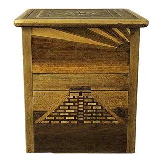 Antique Mexican Cigarette Box Dispenser For Sale