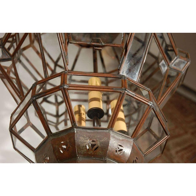 Granada Moroccan Clear Glass Pendant For Sale In Los Angeles - Image 6 of 10
