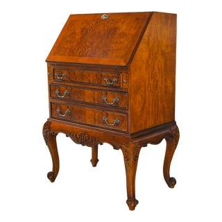 French Burled Secretary Desk For Sale
