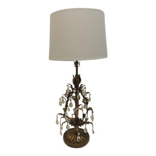 Mid-Century Modern Florentine Table Lamp For Sale