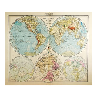 Stielers Hand Atlas 100 Maps For Sale