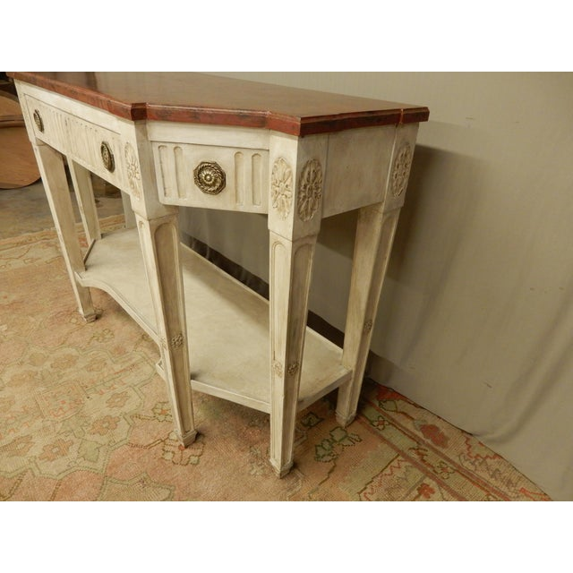 Early 19th C Painted Directoire' Console For Sale In New Orleans - Image 6 of 10