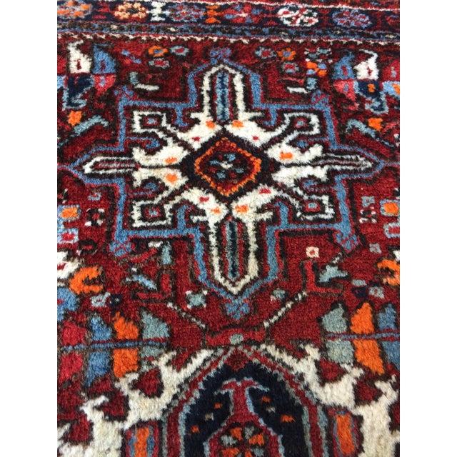 1930s-1940s Karaja Persian Mat For Sale - Image 9 of 13