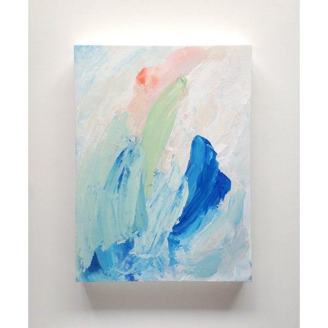 """Dani Schafer """"Quiet II"""" Original 2014 Painting - Image 2 of 8"""