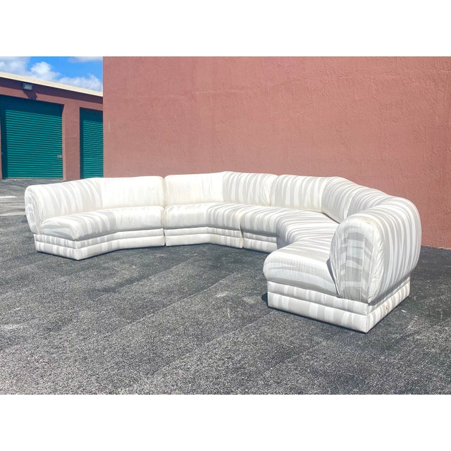 Mid-Century Modern Midcentury Milo Baughman for Thayer Coggin Sectional Sofa For Sale - Image 3 of 12
