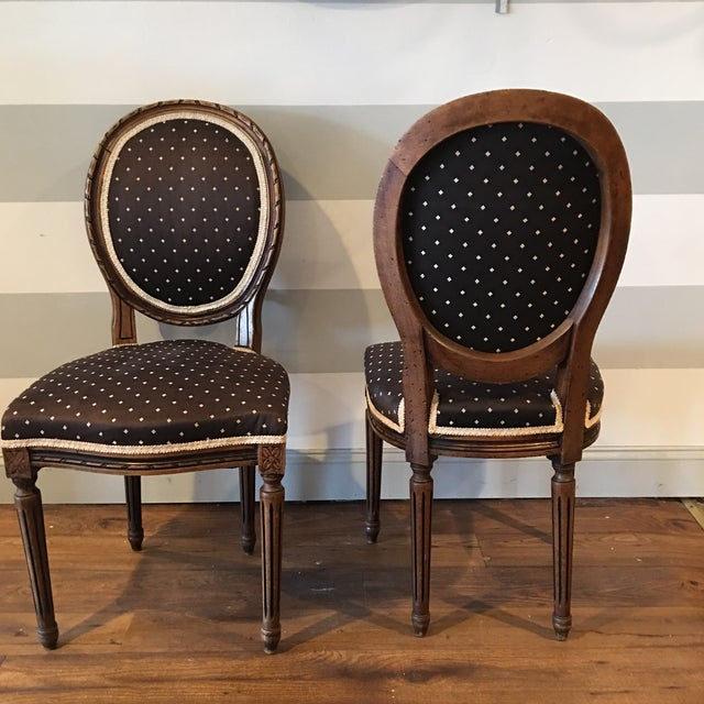 Queen Anne Side Chairs - A Pair - Image 3 of 8