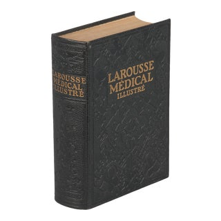 French Book- Larousse Medical Illustre, 1924 For Sale