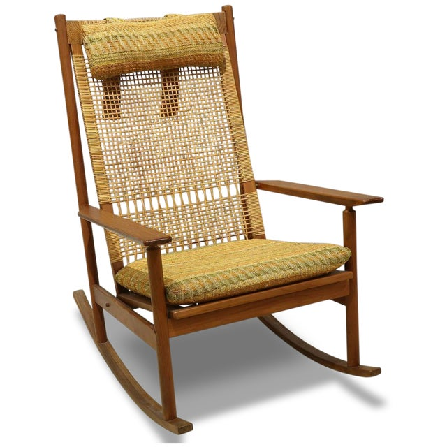 Mid-Century Modern Hans Olsen for Dux Rocking Chair For Sale In Los Angeles - Image 6 of 6