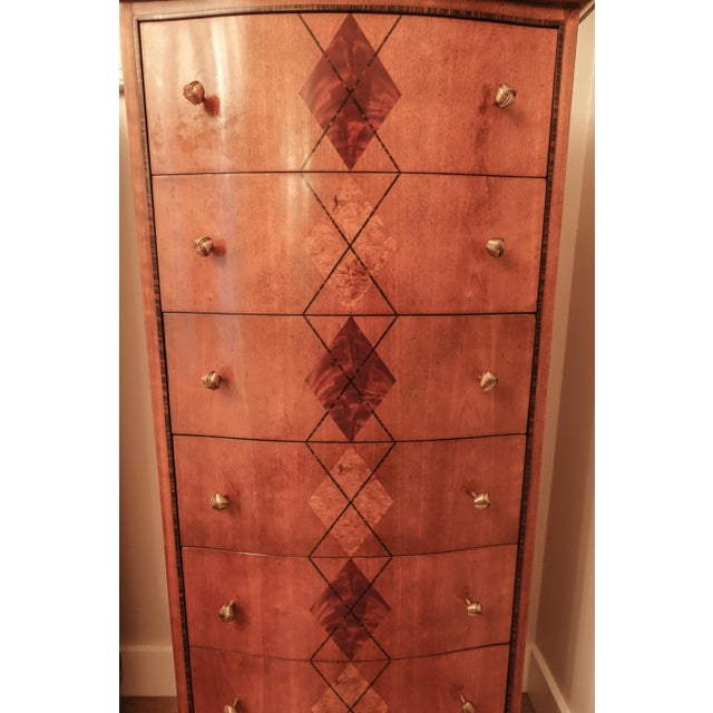 Contemporary Jonathan Charles Dresser Chest For Sale - Image 3 of 7