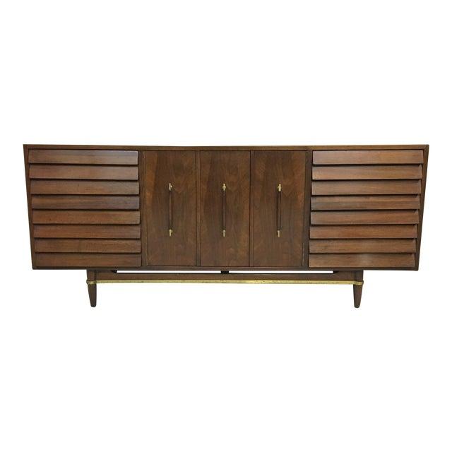 Dania Lowboy Dresser for American of Martinsville by Merton Gershun For Sale