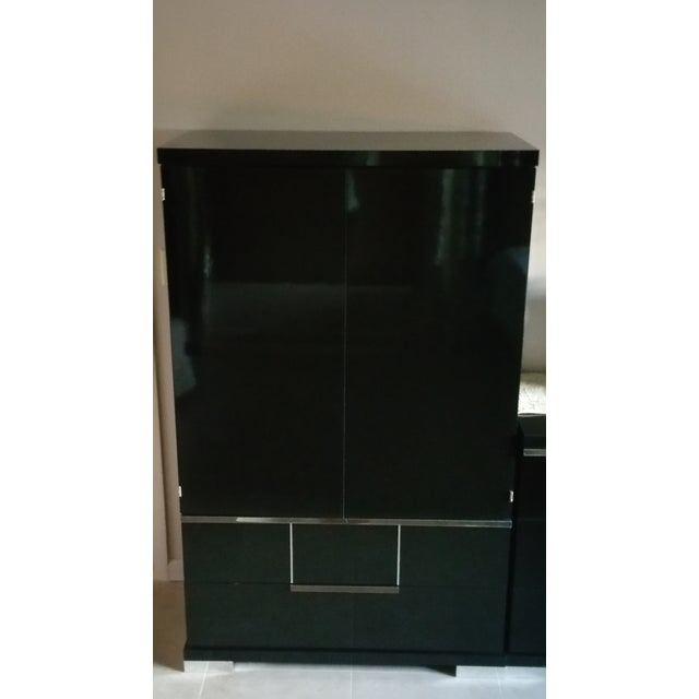 Vintage, Luxe Modern Italian Armoire, Media Unit - Image 3 of 10