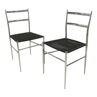 Giò Ponti Superleggera Chairs - A Pair