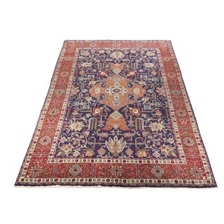 Heriz Estate Oriental Rug - 7″ × 10″ For Sale