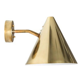 Hans-Agne Jakobsson 'Tratten' Polished Brass Outdoor Sconces - 34 Available For Sale