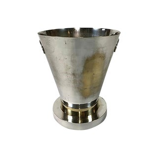 Silver Art Deco Champagne Bucket For Sale