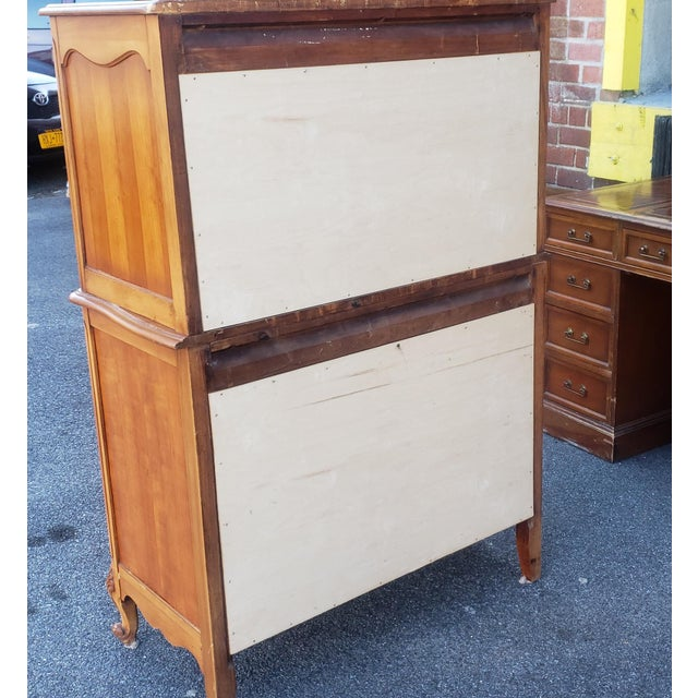 1960s French Provincial Fruitwood 6 Drawer Bedroom Chest of Drawers For Sale - Image 12 of 13