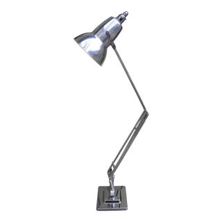 """Vintage 1930s Nickeled """"Anglepoise"""" Task Lamp by George Carwardine, England For Sale"""