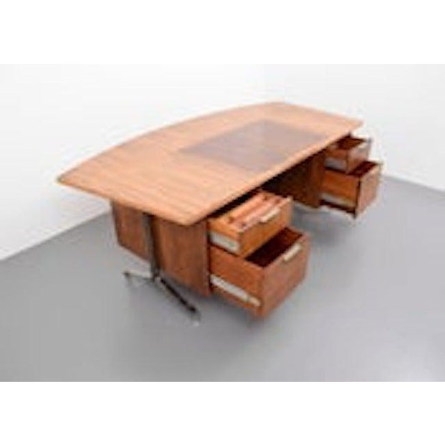 1960s Rosewood Desk From Imperial Desk Company, 1960s, Usa For Sale - Image 5 of 5