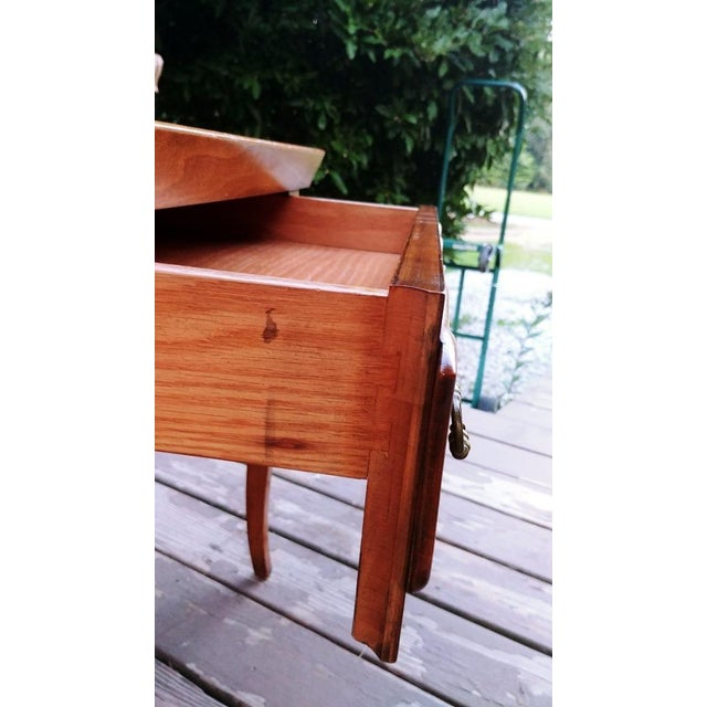 20th Century Regency Baker Furniture Milling Road One Drawer End Table For Sale - Image 10 of 13