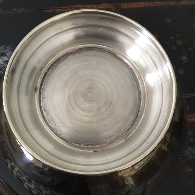 Silver Plated Decorative Bowl - Image 6 of 9