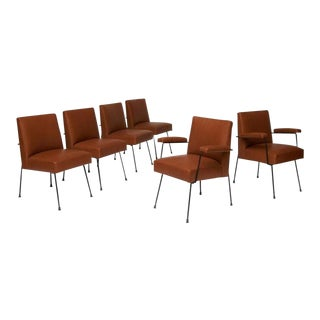 Dining Chairs by Milo Baughman for Pacific Iron For Sale