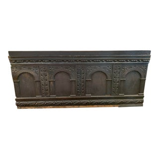 18th Century Architectural Wood Panel For Sale