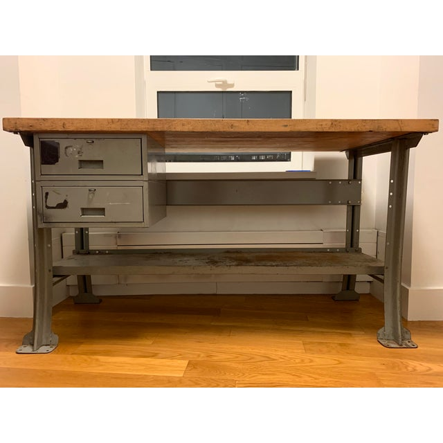 Industrial Industrial Lyon Aurora Ill Workbench For Sale - Image 3 of 10