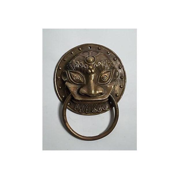 Brass Foo Dog Door Knocker - Image 2 of 5