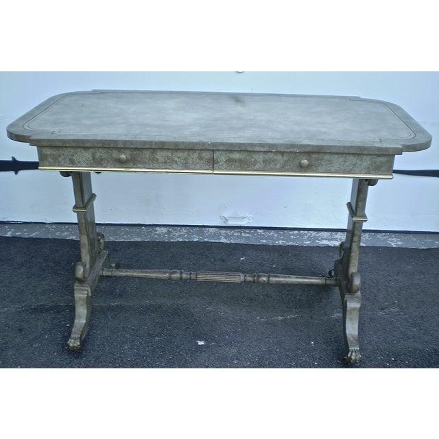 Refinished 1940s Vintage Desk Table - Image 2 of 4