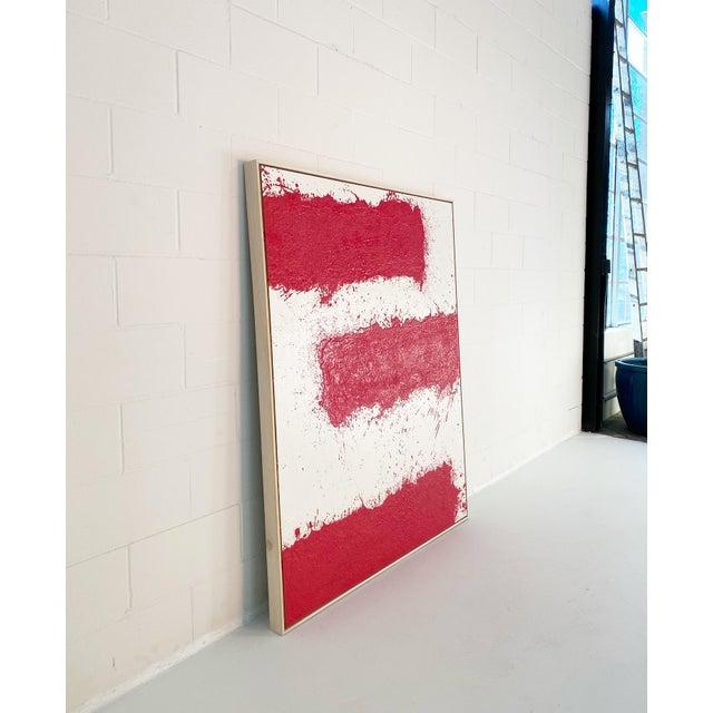 John O'Hara, Tar, T3, Encaustic Painting For Sale - Image 4 of 11