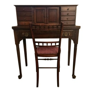 Pennsylvania House Cherrywood Ladies Writing Desk & Chair Set