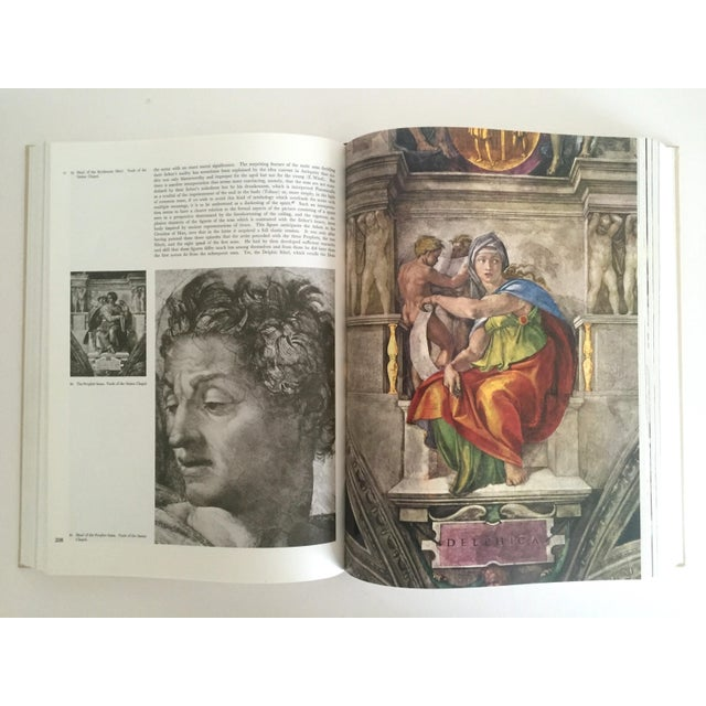 """""""The Complete Work of Michelangelo """" Slip Case Box Monumental Xtra Large Collector Vintage 1965 1st Edtn Book For Sale In New York - Image 6 of 11"""