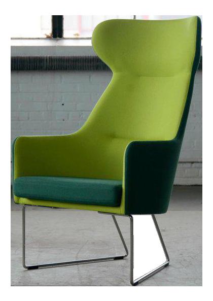 Elegant Bernt Petersen Model 1201 Easy Chair For GETAMA