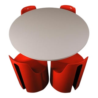 Kay Ruggles Mid-Century Modern Space Age Dining Set - Set of 5