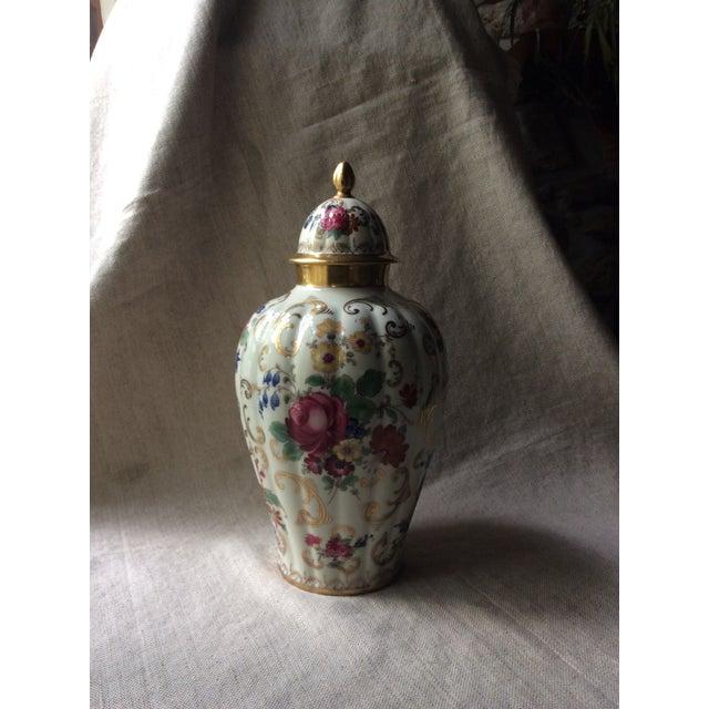 Antique Austrian Porcelain Temple Jar For Sale - Image 4 of 13